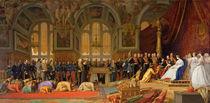The Reception of Siamese Ambassadors by Emperor Napoleon III  von Jean Leon Gerome