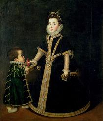 Girl with a dwarf by Sofonisba Anguissola