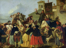 The Tooth Extractor by Giandomenico Tiepolo