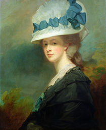Mrs. Musters  by George Romney