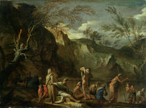 The Baptism of Christ  by Salvator Rosa