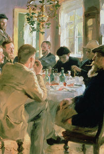 Lunchtime by Peder Severin Kroyer