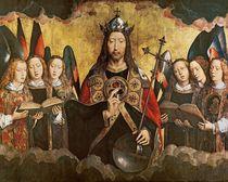 Christ Blessing von Hans Memling
