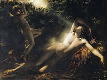 The Sleep of Endymion by Anne Louis Girodet de Roucy-Trioson