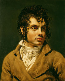 Portrait of a Man  von Anne Louis Girodet de Roucy-Trioson