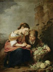 The Little Fruit-Seller by Bartolome Esteban Murillo