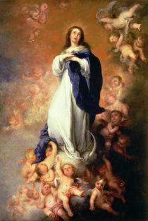 Immaculate Conception of the Escorial by Bartolome Esteban Murillo