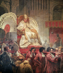 Pope Pius VIII  by Emile Jean Horace Vernet