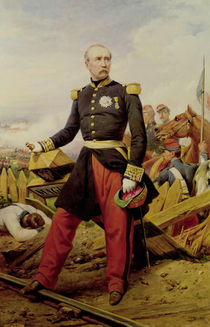 Comte Maurice de MacMahon  by Emile Jean Horace Vernet