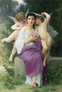 The Heart's Awakening by William-Adolphe Bouguereau