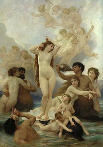 The Birth of Venus von William-Adolphe Bouguereau