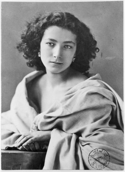Quot Sarah Bernhardt Quot Picture Art Prints And Posters By Nadar