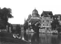 The synagogue at Nuremberg von Jousset