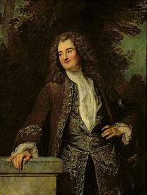 Portrait of a Gentleman by Jean Antoine Watteau