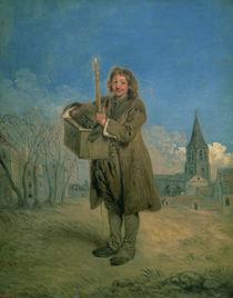 Savoyard with a Marmot von Jean Antoine Watteau