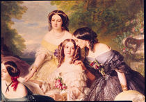 Empress Eugenie  by Franz Xavier Winterhalter