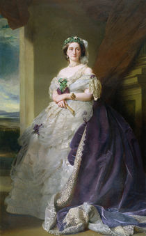 Portrait of Lady Middleton  by Franz Xavier Winterhalter