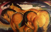 Little Yellow Horses von Franz Marc