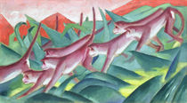 Monkey Frieze von Franz Marc