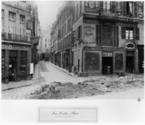 Rue Maitre Albert  by Charles Marville