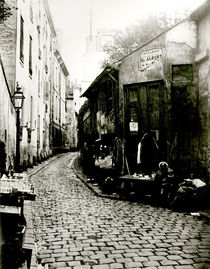 Rue du Jardinet and the cul-de-sac of Rohan von Charles Marville