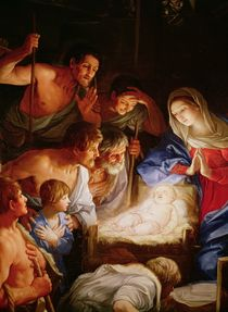 The Adoration of the Shepherds von Guido Reni