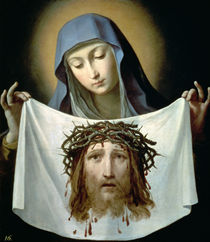 St. Veronica  by Guido Reni