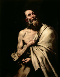 St. Bartholomew  by Jusepe de Ribera