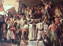 The Cry of the Palleter declaring was on Napoleon von Joaquin Sorolla y Bastida
