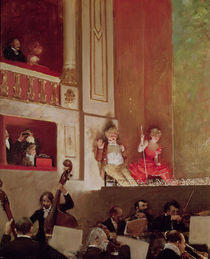 Revue at the Theatre des Varietes by Jean Beraud