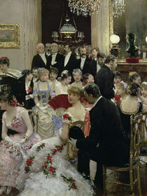 The Soiree by Jean Beraud
