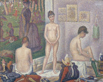 The Models von Georges Pierre Seurat