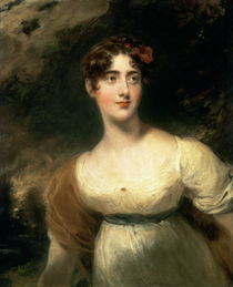 Portrait of Lady Emily Harriet Wellesley-Pole by Sir Thomas Lawrence
