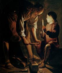St. Joseph by Georges de la Tour