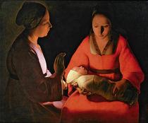 The New Born Child by Georges de la Tour