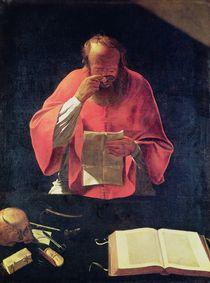 St.Jerome reading  by Georges de la Tour