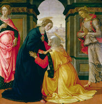 The Visitation by Domenico Ghirlandaio