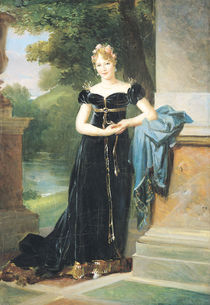 Portrait of Marie Laczinska  by Baron Francois Pascal Simon Gerard