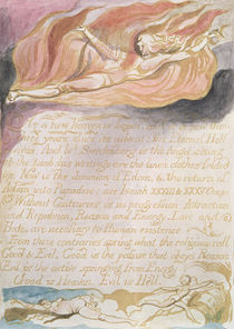"The Marriage of Heaven and Hell; ""As a new heaven is begun"" by William Blake"