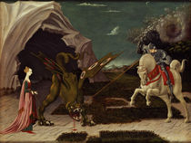 St. George and the Dragon von Paolo Uccello