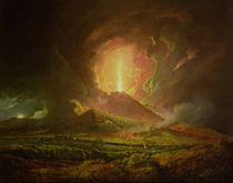An Eruption of Vesuvius by Joseph Wright of Derby