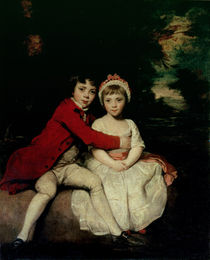 John Parker and his sister Theresa by Sir Joshua Reynolds