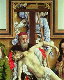 Joseph of Arimathea Supporting the Dead Christ von Rogier van der Weyden