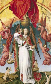 St. Michael Weighing the Souls by Rogier van der Weyden