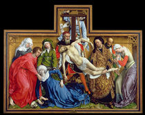 Descent from the Cross von Rogier van der Weyden