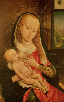 Virgin and Child  von Rogier van der Weyden
