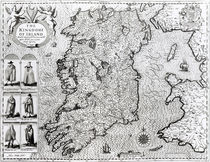 The Kingdom of Ireland von John Speed