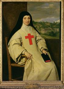 Mother Angelique Arnauld  by Philippe de Champaigne