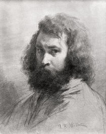 Self Portrait by Jean-Francois Millet