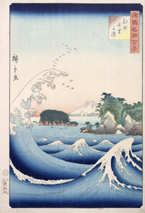The Wave by Ando or Utagawa Hiroshige